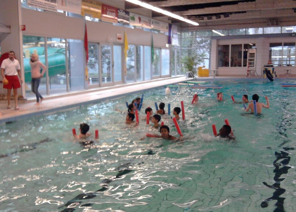 Spel zonder water grenzen in koksijde bs de tuimelaar de panne - Strand zwembad zonder grenzen ...